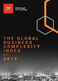 The Global Business Complexity Index: 2019