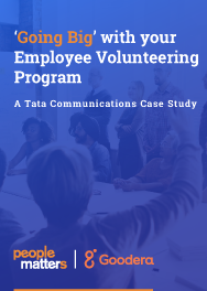 'Going big' with your employee volunteering program | A Tata Communications case study